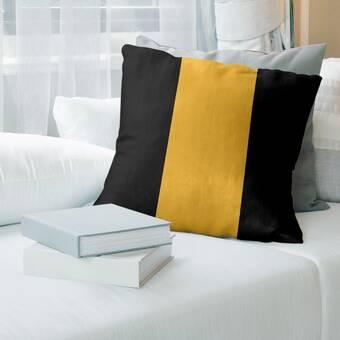 East Urban Home Cleveland Basketball Striped Pillow Wayfair