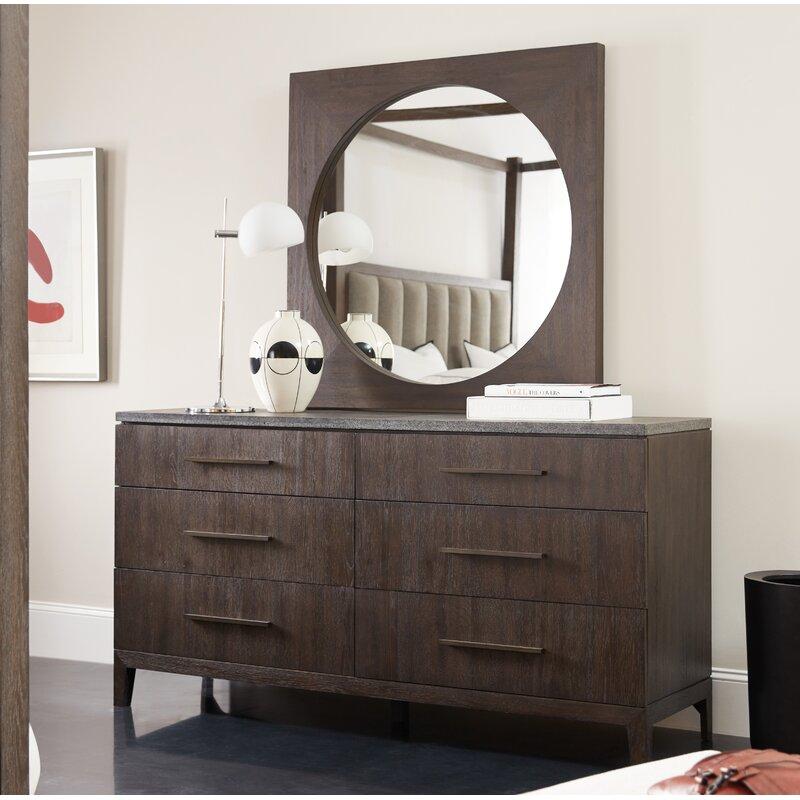 Hooker Furniture Miramar 6 Drawer Double Dresser With Mirror Reviews Perigold