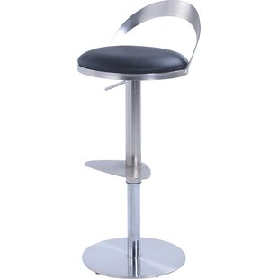 Germain Adjustable Height Bar Stool by Or..