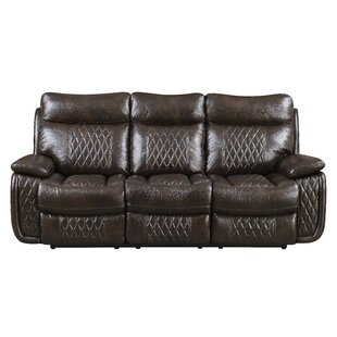Shop Courtois Reclining Sofa by Winston Porter