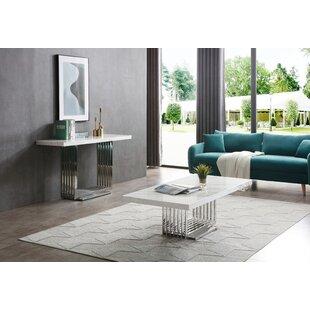 VIG Furniture Kingsley 2 Piece Coffee Table Set