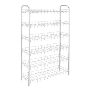 Price comparison 6-Tier 18 Pair Shoe Rack By Metaltex