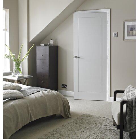 Premdor 1 Panel White Smooth Internal Door Wayfair