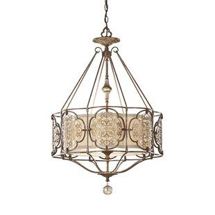 Best Reviews Villeroy 3-Light Lantern Chandelier By Lark Manor