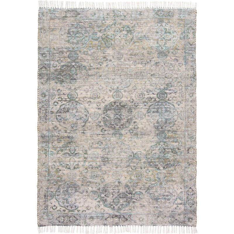 Charlton Home Beckstead Tan Green Area Rug Wayfair