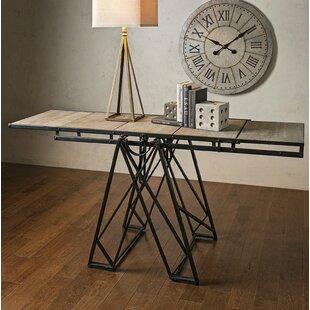 Heliodoro Console Table by 17 Stories