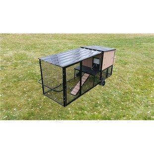 Hersh Mobile Chicken Coop With Chicken Run By Tucker Murphy Pet