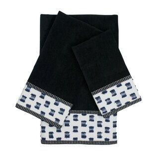 O'Fifi 3 Piece 100% Cotton Towel Set