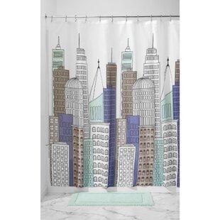 Compare Skyline Shower Curtain ByInterDesign