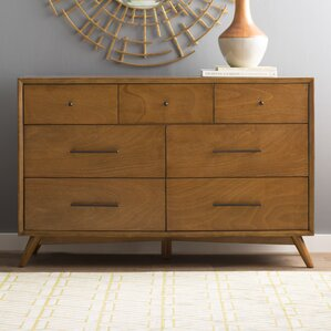 Parocela 7 Drawer Dresser by Langley Street