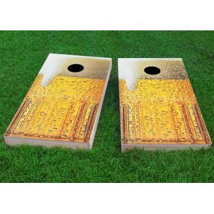 Custom Cornhole Boards Bubbly Beer Mug Cornhole Game (Set of 2)