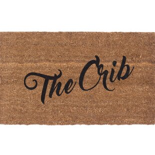 The Crib Doormat by Coco Mats N More