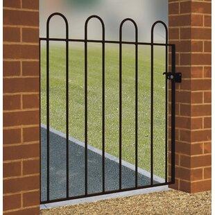 Zuzia Hoop Top Garden Metal Gate By Rosalind Wheeler