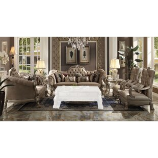 Dicken 4 Piece Living Room Set by Astoria Grand