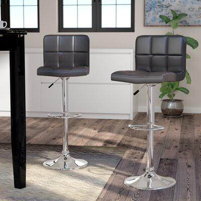 Prime Andres Adjustable Height Swivel Bar Stool Latitude Run Theyellowbook Wood Chair Design Ideas Theyellowbookinfo