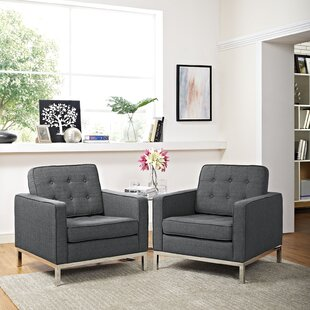 Inexpensive Gayatri Armchair (Set of 2) by Orren Ellis Reviews (2019) & Buyer's Guide
