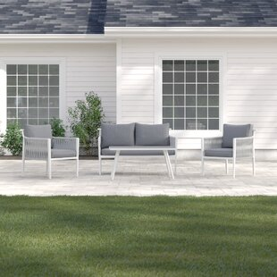 Carrie 4 Seater Sofa Set By Sol 72 Outdoor