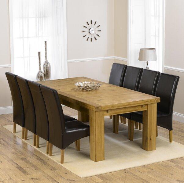 home etc essgruppe patricia mit ausziehbarem tisch und 6 st hlen. Black Bedroom Furniture Sets. Home Design Ideas