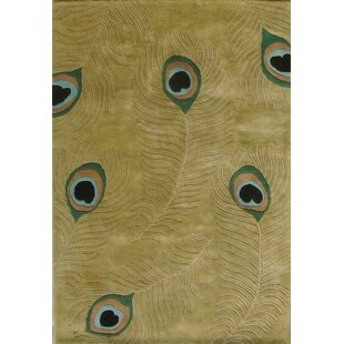 New Zealand Handmade Sage Green Area Rug