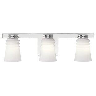 Charlton Home Halewood 3-Light Vanity Light