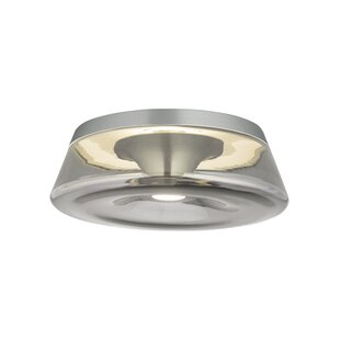 Brayden Studio Hinckley 1-Light LED Flush Mount