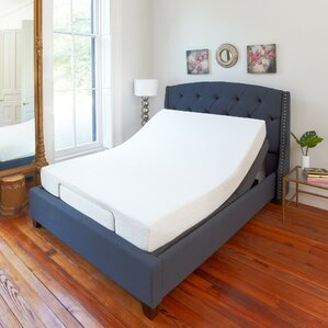 Comfort Upholstered Adjustable Bed by ..