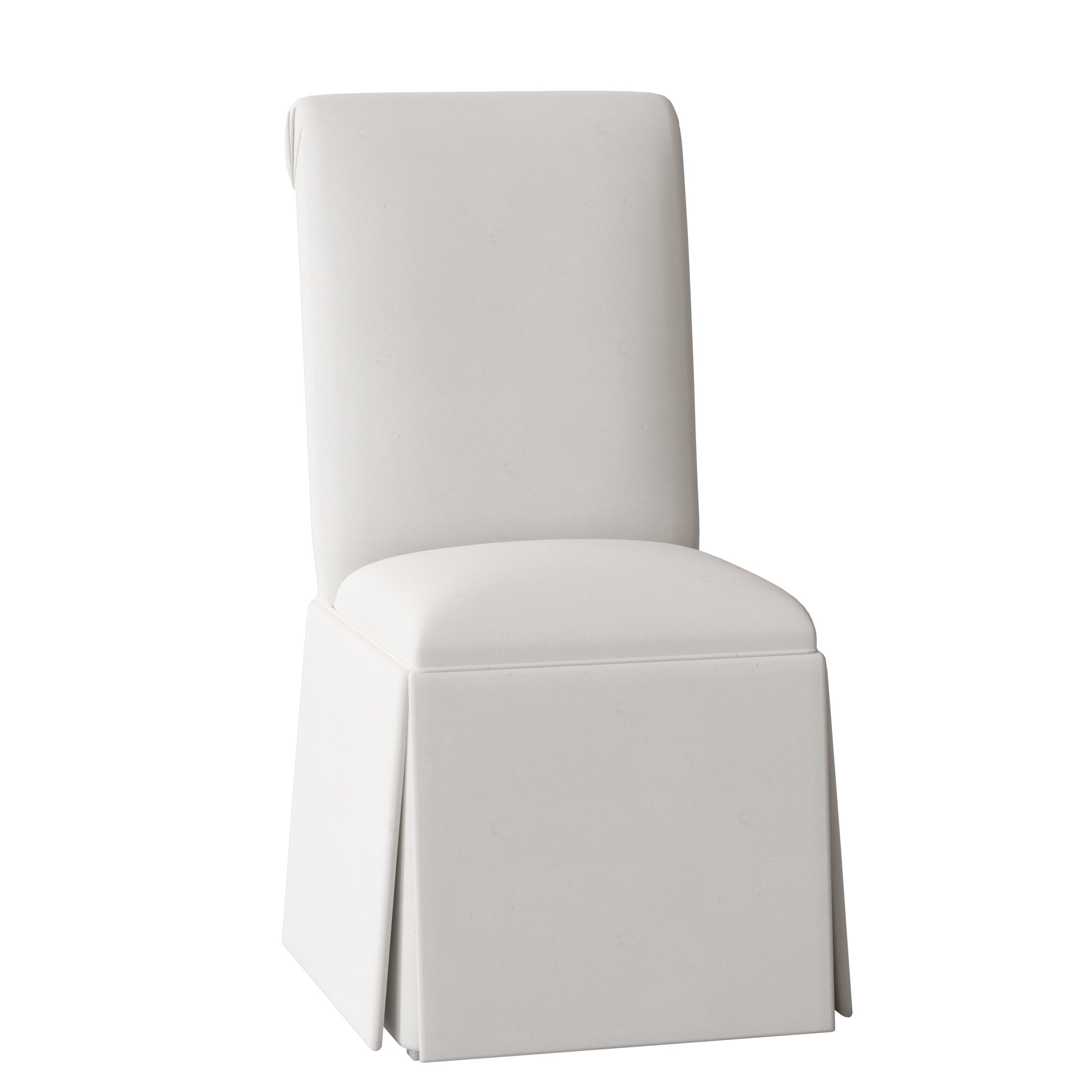 Super Weare Solid Back Skirted Upholstered Dining Chair Ibusinesslaw Wood Chair Design Ideas Ibusinesslaworg