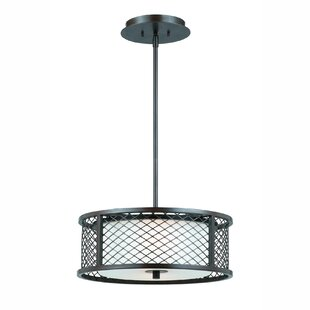 Latitude Run Fehr 3-Light Drum Pendant