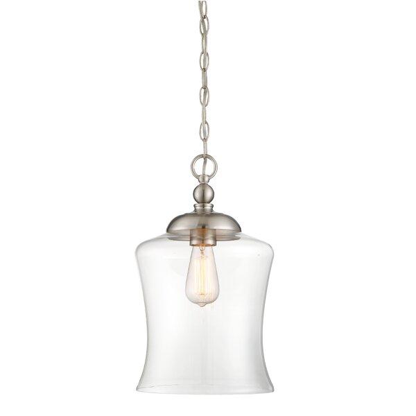 Savoy House Wentzville 1 Light Single Bell Pendant Reviews Wayfair