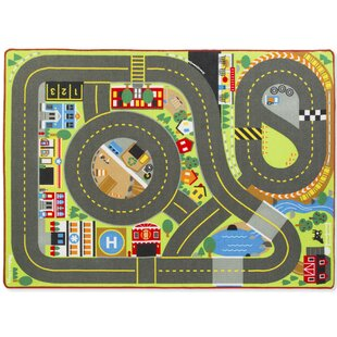 Compare prices 5 Piece Jumbo Roadway Activity Playmat Set ByMelissa & Doug
