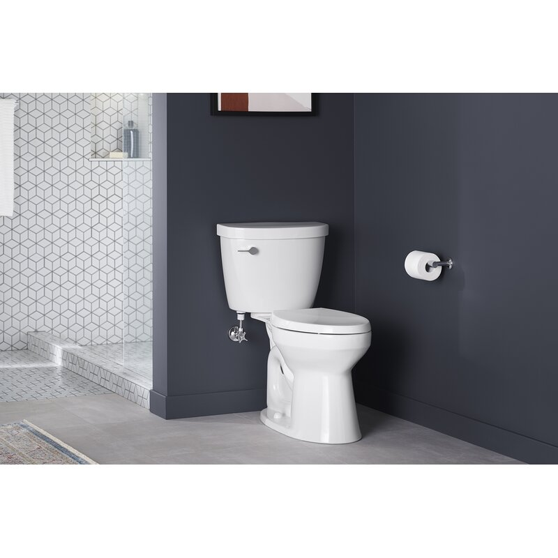 Kohler Cimarron Comfort Height Two Piece Elongated 1 28 Gpf Chair Height Toilet Wayfair