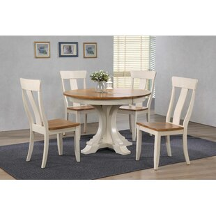 Alisha 5 Piece Extendable Dining Set