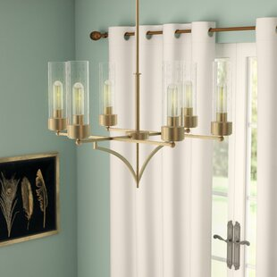Mercury Row Depaz 6-Light Shaded Chandelier