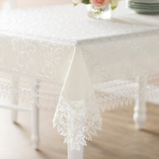 Oblong Lace Tablecloth Wayfair