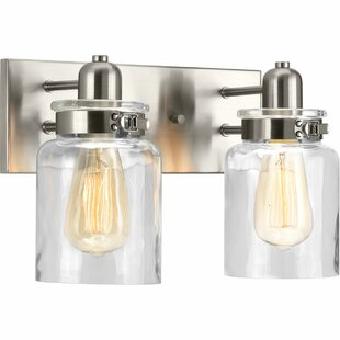 Brushed Nickel Bathroom Vanity Lighting You Ll Love Wayfair