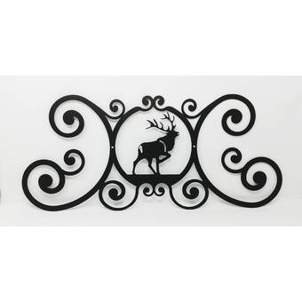 Loon Peak Kaleigh Bear Over Door Plaque Wayfair