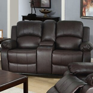 Compare prices Mayday Console Reclining Loveseat by Red Barrel Studio Reviews (2019) & Buyer's Guide