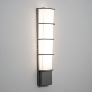 Upgrade Your Home With Wac Lighting Cube Architectural Led Outdoor Armed Sconce