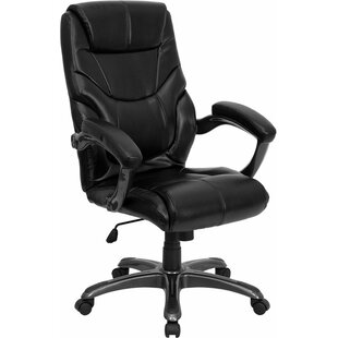Symple Stuff Kropp High-Back Overstuffed Ergonomic Executive Chair