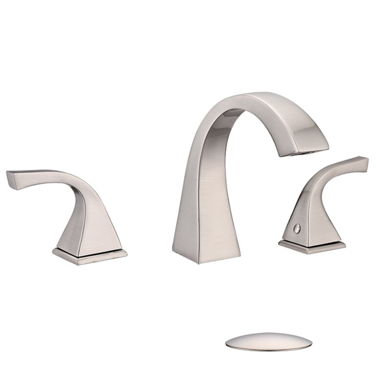 Renist Widespread Bathroom Faucet With Drain Assembly Reviews Wayfair