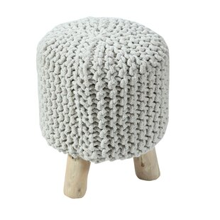 Retiro Padded Cotton Vanity Stool by Bungalow Rose