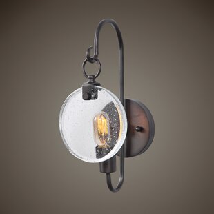 Karl 1-Light Armed Sconce By 17 Stories