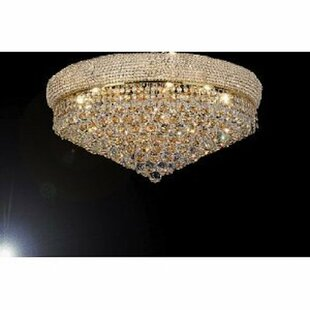 Everly Quinn Borrego 14-Light LED Flush Mount