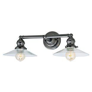 Shumway 2-Light Bathroom Vanity Light