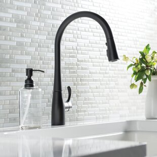 Matte Black Touchtouchless Kitchen Faucets Youll Love Wayfair