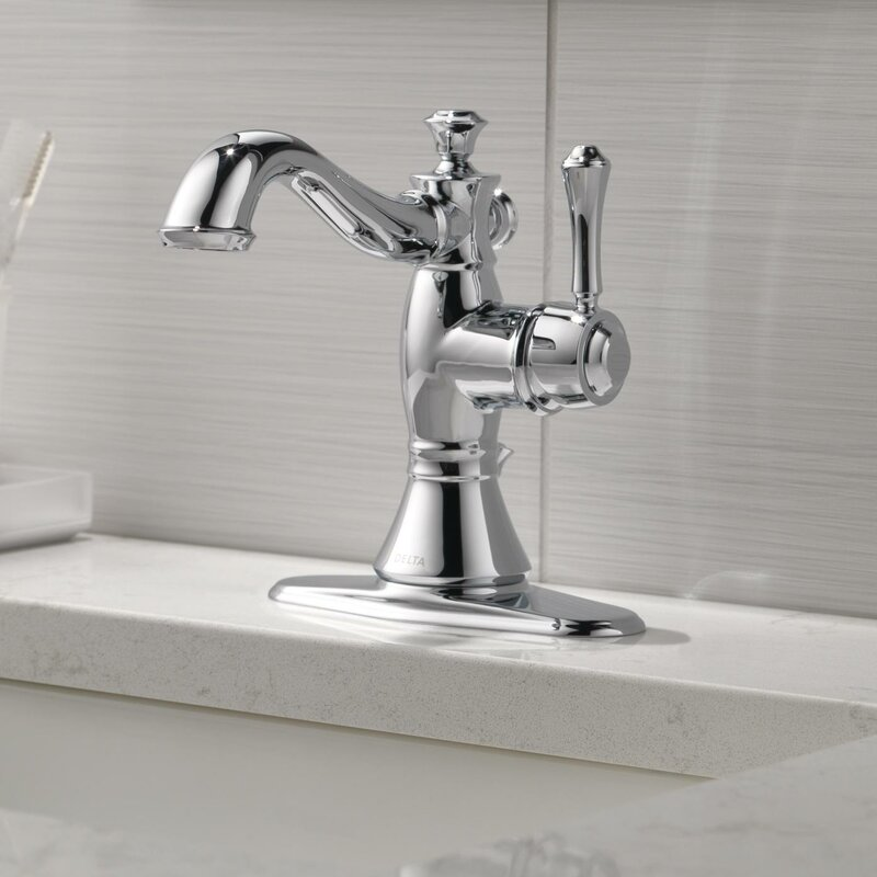 cassidy single handle centerset bathroom faucet