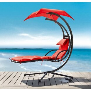 Hornback Dream Hanging Chaise Lounger by Latitude Run
