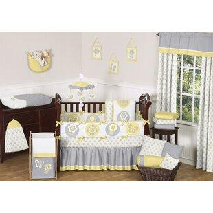 Read Reviews Mod Garden 9 Piece Crib Bedding Set BySweet Jojo Designs