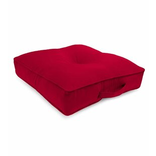 Tufted Outdoor Floor Pillow