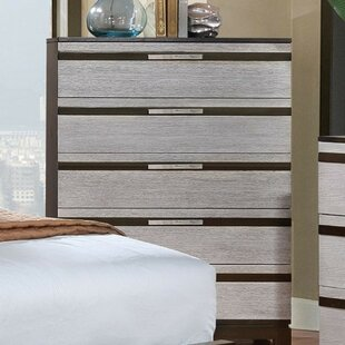 Latitude Run Padawe Wooden 5 Drawer Chest